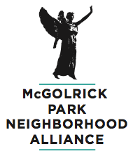 The McGolrick Park Neighborhood Alliance (MPNA) logo