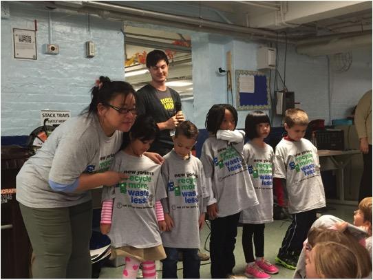 Tina Wong, PS 34 Sustainability Coach