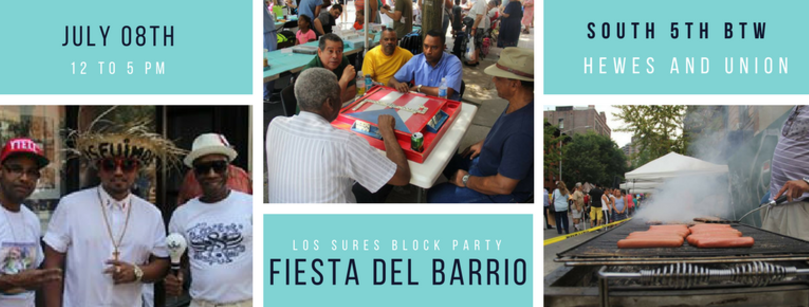 Los Sures Annual Block Party Festival- Fiesta del Barrio!