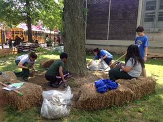 MS 126 Garden Volunteer Day!