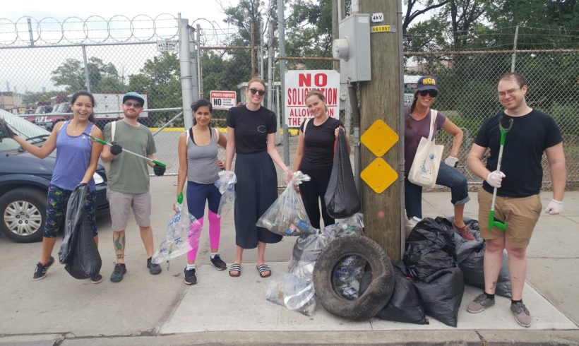 Stink Spirits: Clean-Up Day with Curb Your Litter Greenpoint