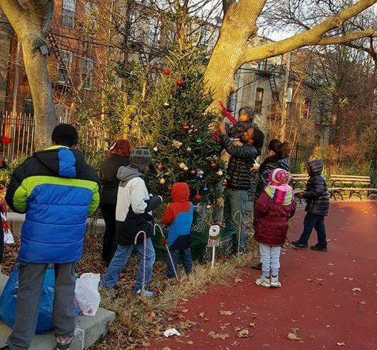 Christmas Tree Trimming, Lighting, and Caroling!