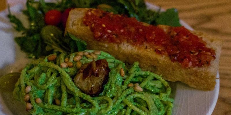 Our Sicilian Vegan Dinner
