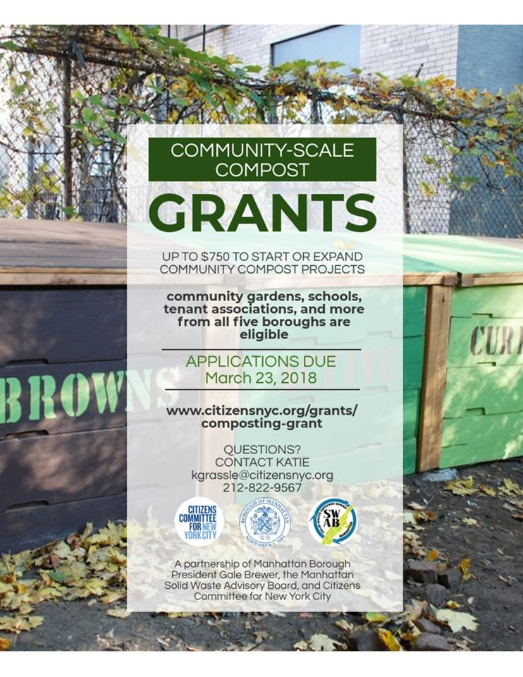 Community Scale Compost Grants - Go Green Brooklyn