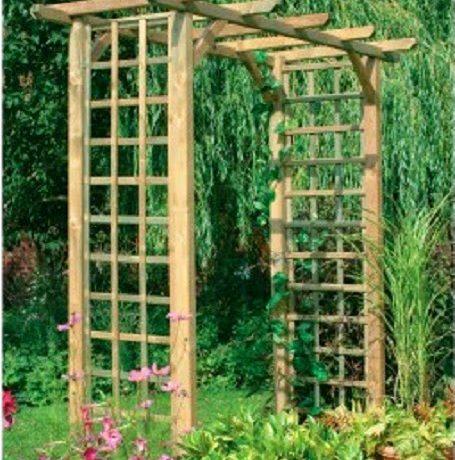Exceptionnel Building A Trellis In Your Garden