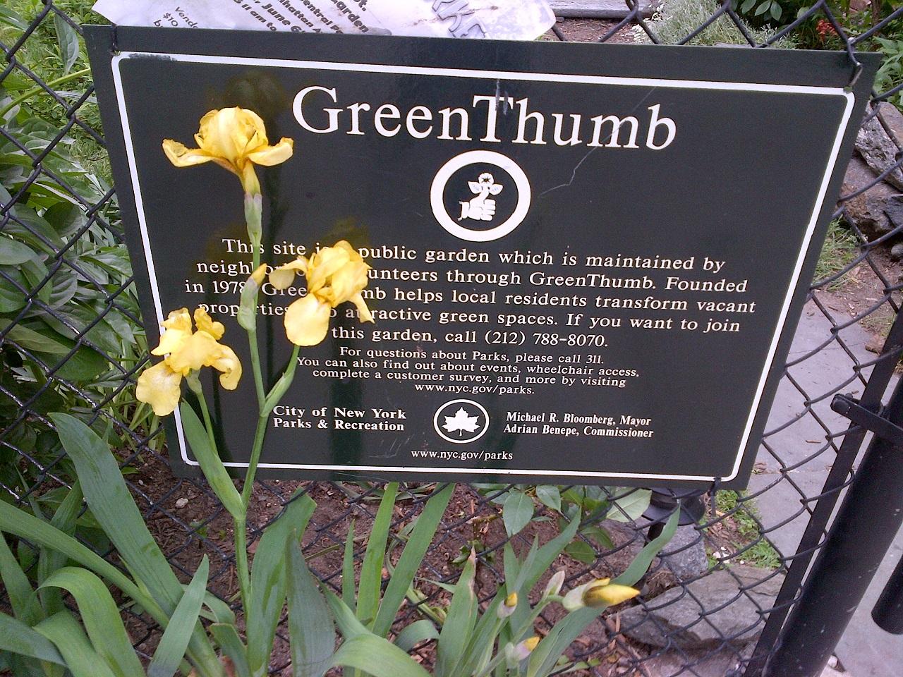 GreenThumb Open Garden Day - Go Green Brooklyn