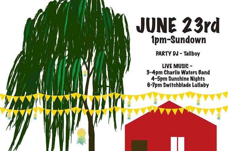 Red Shed Summer Garden Party & Fundraiser