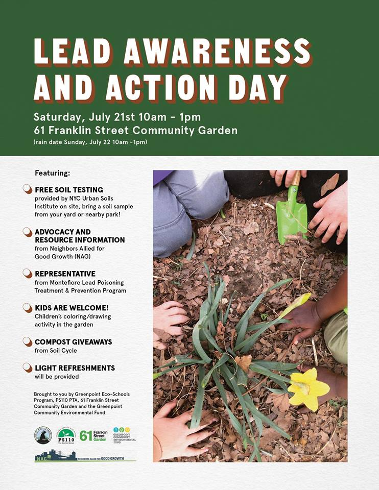 Lead Awareness and Action Day - Go Green Brooklyn