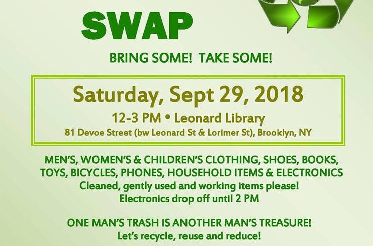 Greencycle Back-to-School Swap