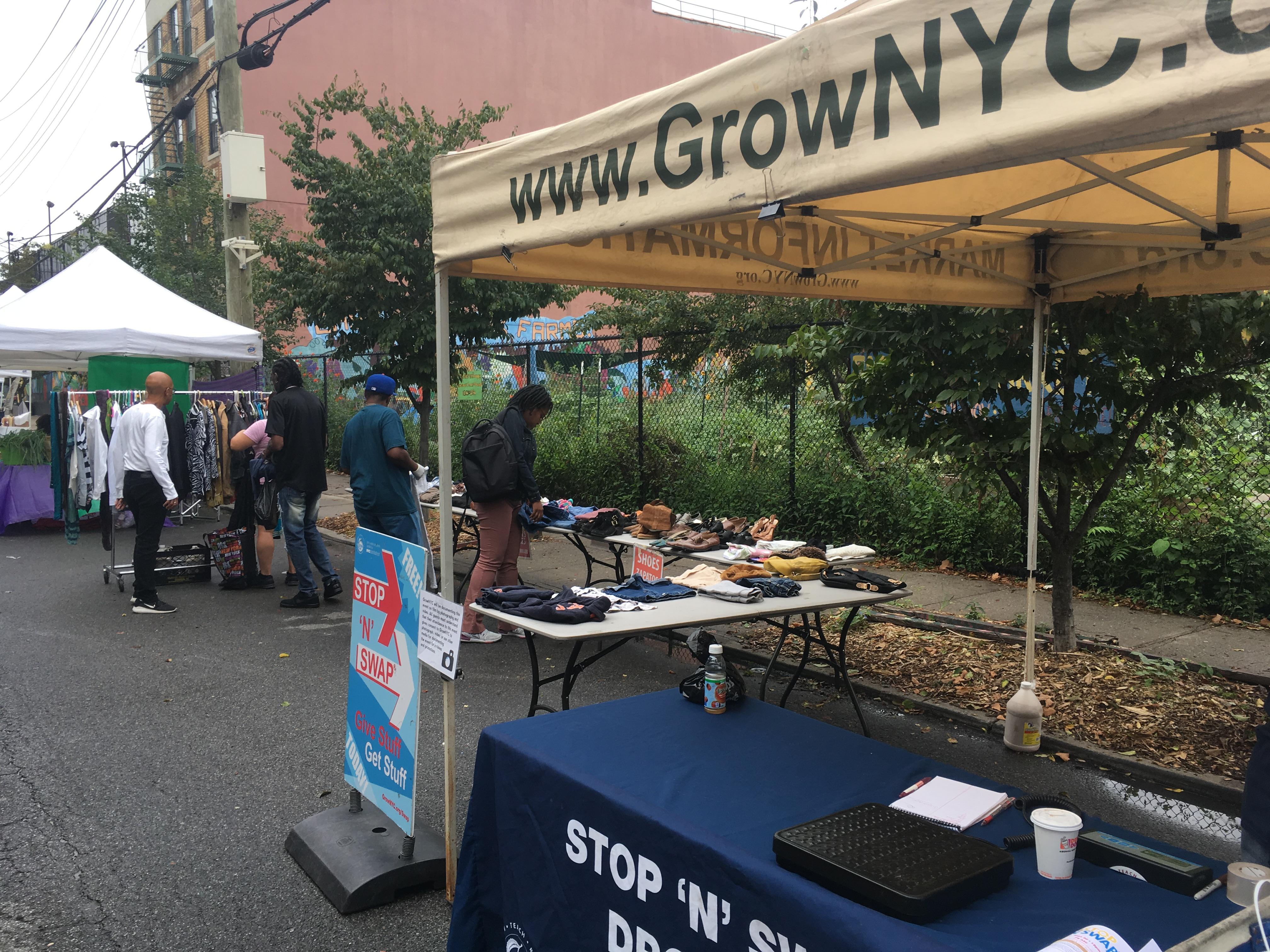 East New York Clothing Swap - Go Green Brooklyn